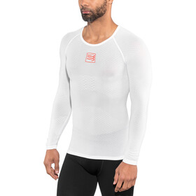 Compressport 3D Thermo UltraLight Jersey manga larga, white